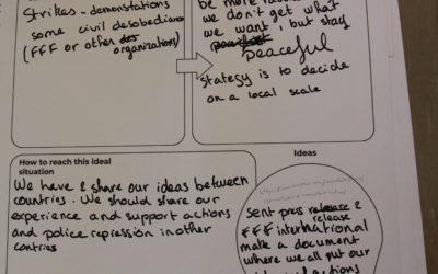 Working groups – Action modes – diversiliying tactics